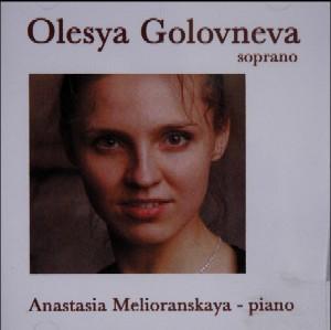 PROMOTIE-CD OLESYA GOLOVNEVA, SOPRAAN; 2004