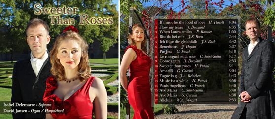 SWEETER THAN ROSES; 2011